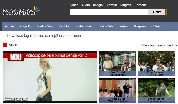 Download legal de muzica mp3 si videoclipuri